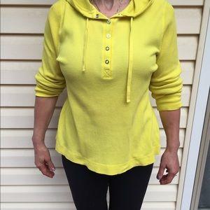 Ralph Lauren Long sleeve hoodie, size  XL, yellow